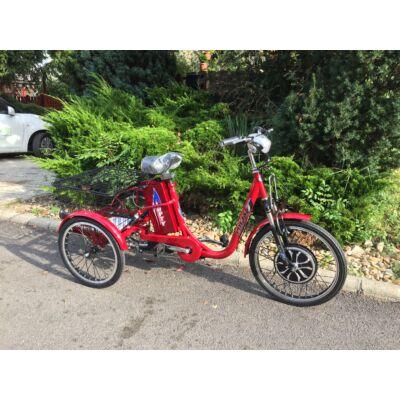 Lofty-3 TRINITY háromkerekű elektromos kerékpár 36V 12Ah 250W 25Km/h