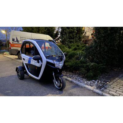 Z-TECH ZT-95 2 Személyes zárt elektromos háromkerekű segédmotoros kerékpár 72V 45Ah 45km/h