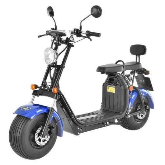 HECHT COCIS - Elektromos robogó 60V 20Ah 1500 Watt 45 km/h KÉK