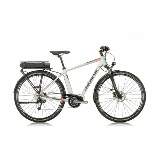 "SHOCKBLAZE PULSE EBIKE ""28"" MAN EZÜST"